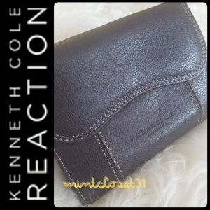 🆕 Kenneth Cole REACTION Leather Wallet